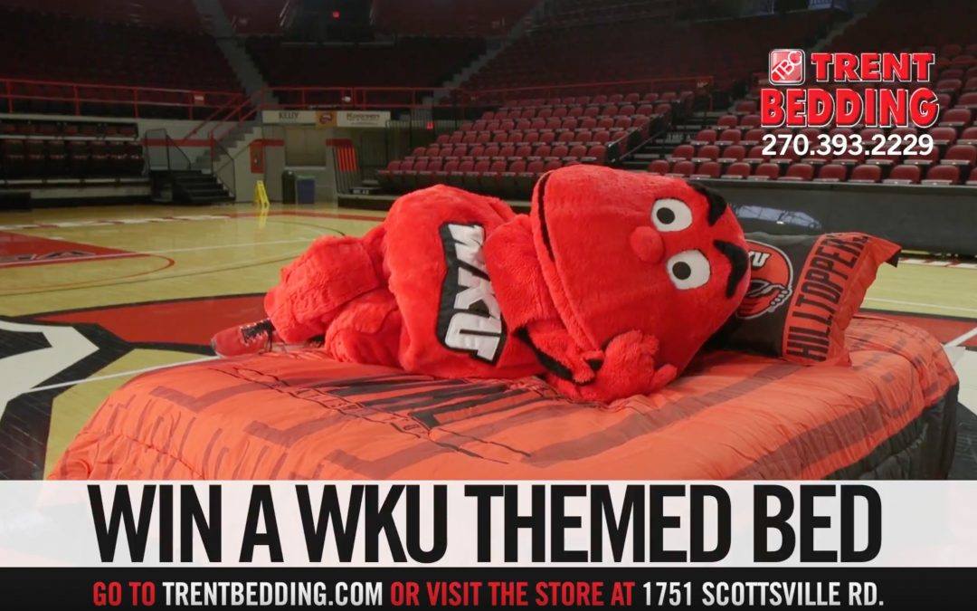 Trent Bedding's Win a WKU Bed Contest is Back